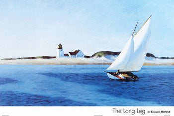 Edward Hopper - 'The Long Leg' (24x36)  - FAR12002