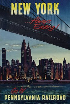New York Always Exciting (24x36) - FAR36143