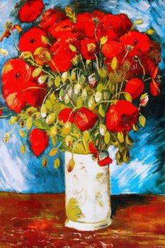 Van Gogh - Poppies (24x36) - FAR36308