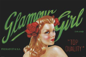 Glamour Girl (24x36) - FAR36568