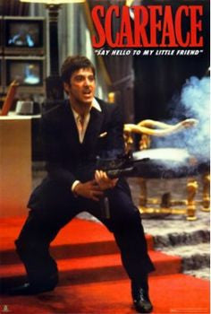 Scarface - Say Hello to my Little Friend. FLM00066 39x54