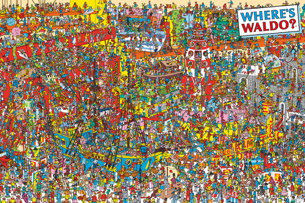 Where's Waldo - Toys 24x36 - FLM01425