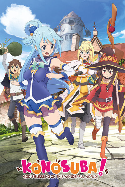 Konosuba - Key Art (24x36) - FLM04460