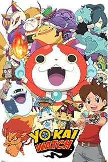Yo-Kai Watch - Cast (24x36) - FLM08051