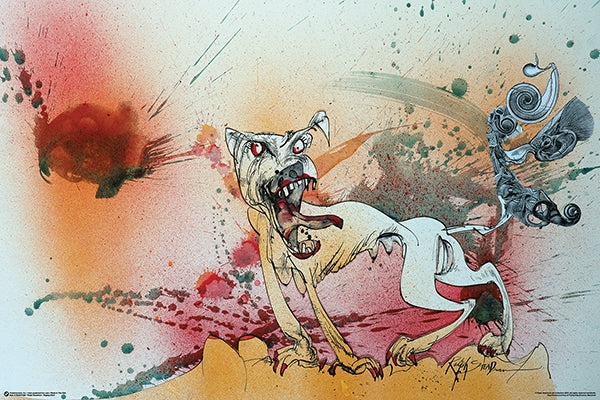 Ralph Steadman - Raging Bitch 24x36 - FLM11300