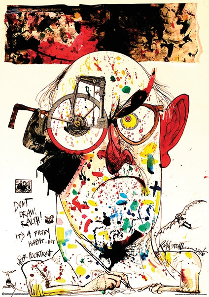 Ralph Steadman - Self Portrait 24x36 - FLM11305