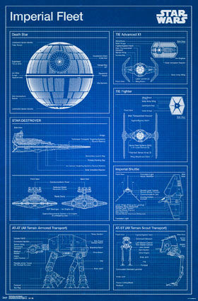 Star Wars - Imperial Blueprint - FLM14459