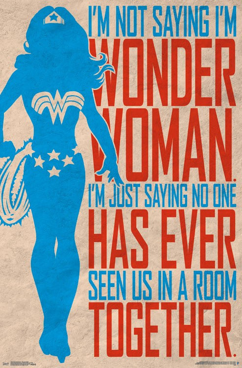 Wonder Woman - Secret Identity (24x36) - FLM14921