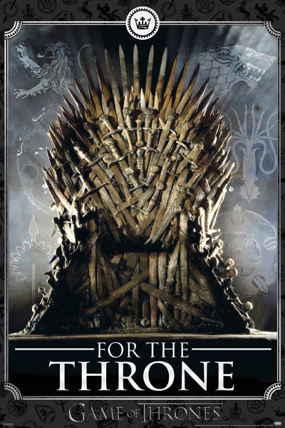 FLM16450 - Game Of Thrones For The Throne