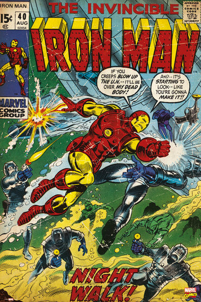 Iron Man - Night Walk (24x36) - FLM51347