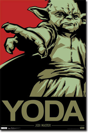 Star Wars - Yoda (24x36) - FLM56020