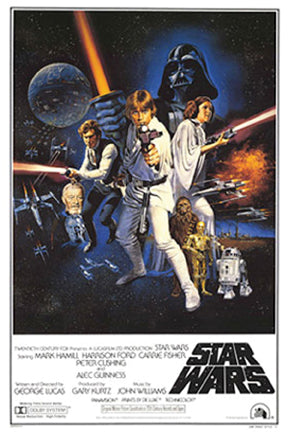 Star Wars - Vintage Movie Poster