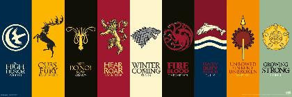 Game of Thrones - House Sigils (Panoramic) - FLM70281