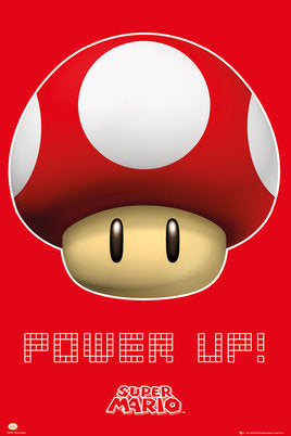 "Nintendo - ""Power Up!"" (24x36) - FLM91097"