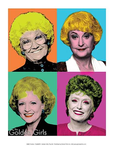 Golden Girls/Pop Art (11x14) - FLM60070