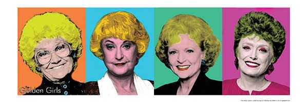 Golden Girls/Pop Art (12x36) - FLM60071