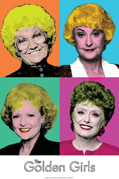 Golden Girls/Pop Art (24x36) - FLM95109