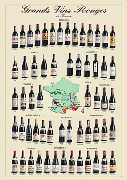 Wines of France HMR04700 (24 X 36)