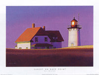 "Rob Brooks - ""Sunset on Race Point"" (11x14) - FAR61005"