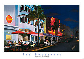 "Kenny Beberman - ""The Boulevard"" (11x14) - FAR62003"