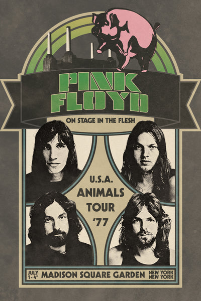 Pink Floyd - Animals Tour 24x36 - MUS01384