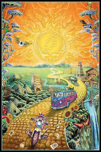 Grateful Dead - Golden Road 24x36 - MUS01415