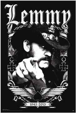 Motorhead's Lemmy - Pointing (24x36) - MUS03268