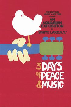 "Woodstock - ""3 Days of Peace"" (24x36) - MUS36603"
