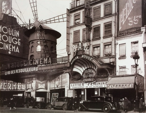 Moulin Rouge Nightclub 1930 (24x36) - BAW00981