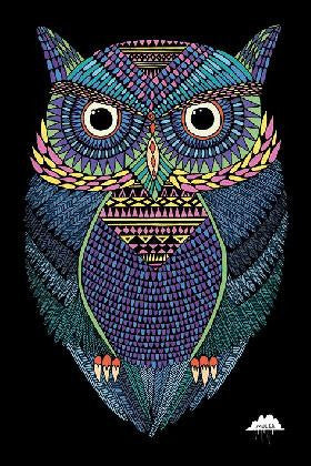 Mulga - Michael The Magical Owl (24x36) - NAT33464