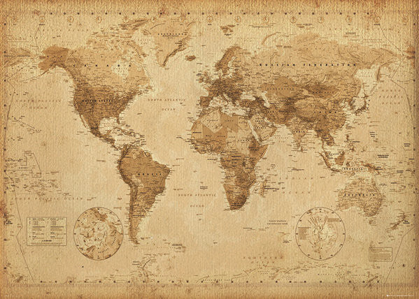 NAT90012 World Map.