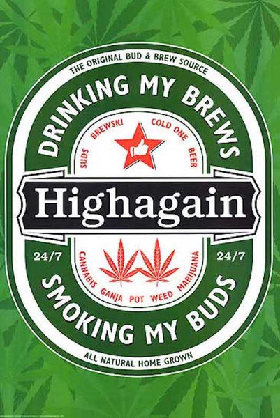 Highagain (24x36) - POT44818
