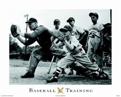 Baseball Training (24x36) - SPT11022