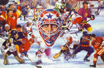 Eyes of Hockey - Collage (24x36) - SPT11026