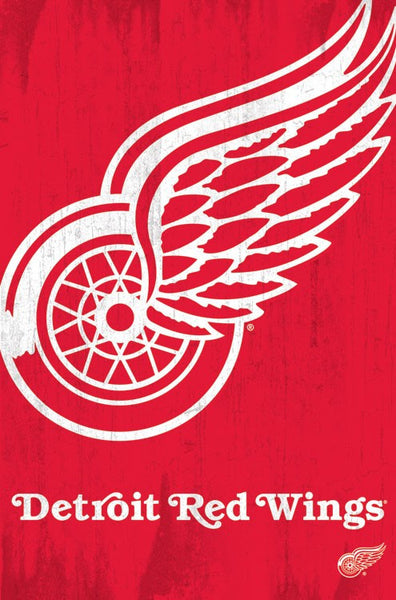 Detroit Red Wings Logo (24x36) - SPT13085