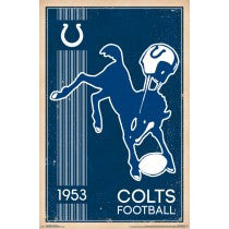Indianapolis Colts Logo (Retro) (24x36) - SPT13175