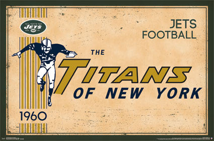 New York Jets Logo (Retro) (24x36) - SPT13179