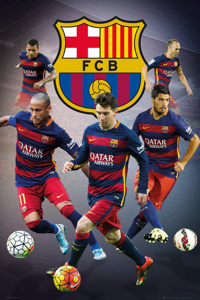 Barcelona - Star Players (24x36) - SPT13501