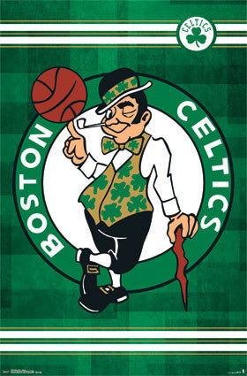 Boston Celtics Logo (24x36) - SPT13615