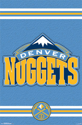 Denver Nuggets Logo (24x36) - SPT13763