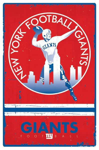 New York Giants Logo (Retro) (24x36) - SPT14256