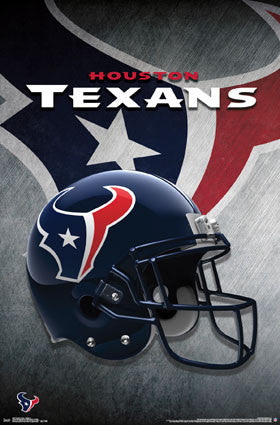 Houston Texans Helmet (24x36) - SPT14497