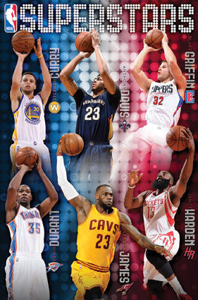 NBA - Superstars 15 (24x36) - SPT14507