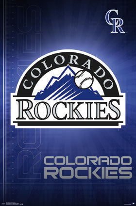 Colorado Rockies Logo (24x36) - SPT14679