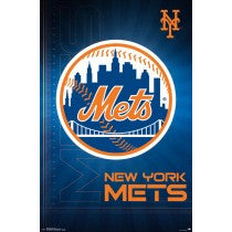 New York Mets Logo (24x36) - SPT14689
