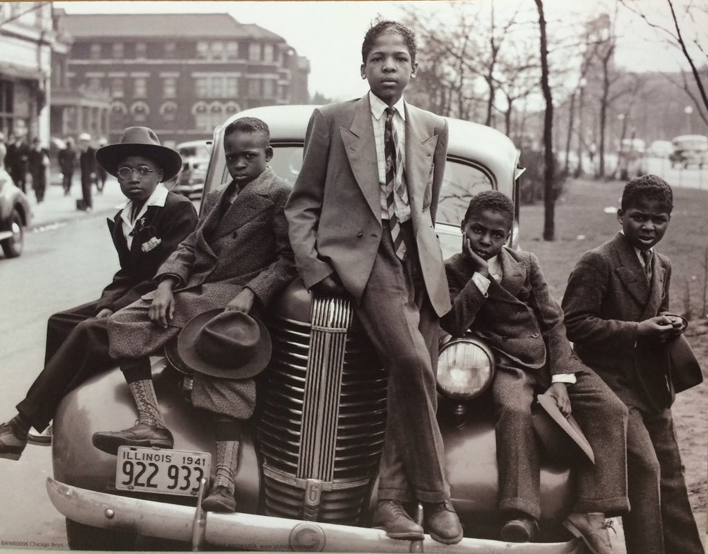 "Russell Lee - ""Sunday Best, Southside Chicago Boys"" (11x14) - BAW60006"