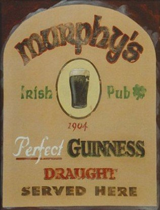 "David Marrocco - ""Murphy's Irish Pub"" (11x14) - FAR61010"