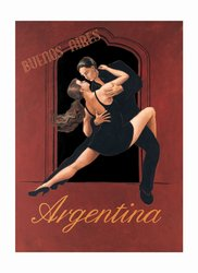 "David Marrocco - ""Argentina"" (11x14) - FAR61040"