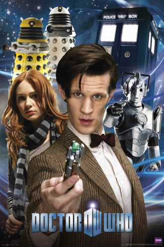 Doctor Who Collage (24x36) - FLM56019
