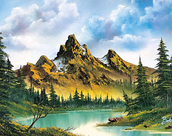Bob Ross - Beautiful Nature Tapestry